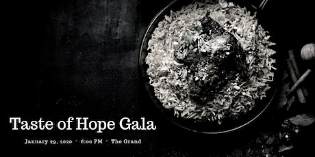 Taste of Hope Gala tickets