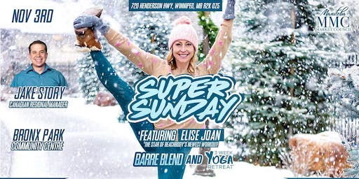 Super Sunday with Super Trainer ELISE JOAN