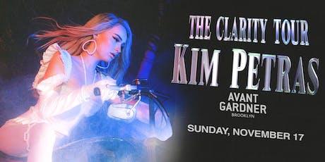 Kim Petras - The Clarity Tour (Sunday) tickets