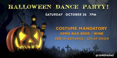 June Farms Halloween Dance Party tickets