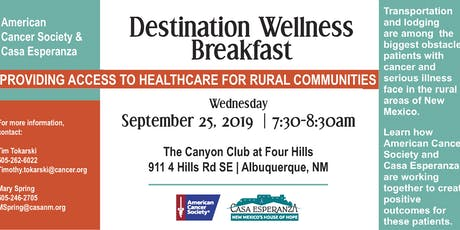 Destination Wellness tickets