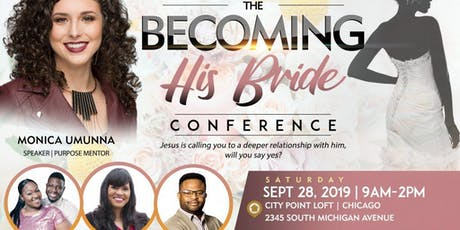 The Becoming His Bride Single's Conference - For Women dedicated to Christ! tickets