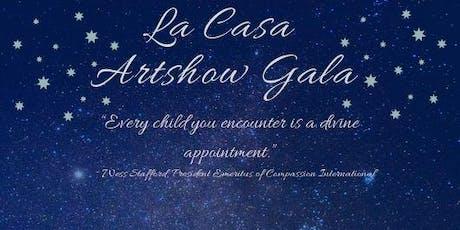 La Casa Artshow Gala tickets