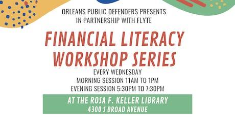 Financial Literacy Workshop: Retirement tickets
