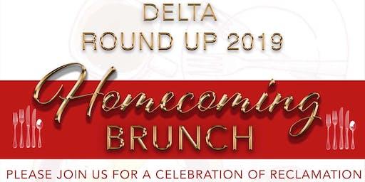 Delta Roundup 2019: Homecoming Brunch