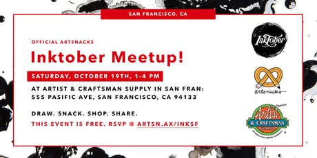 Inktober Meetup in San Francisco! tickets