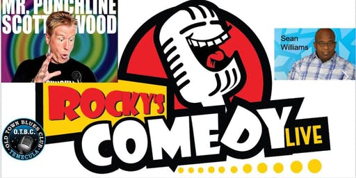Rocky's Comedy Live at Old Town Blues Club! Best Stand up in the region!