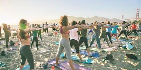 Sunday Zen Beach Yoga with Kelly Becerra! tickets