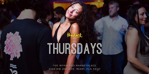 Thursdays at thedeck