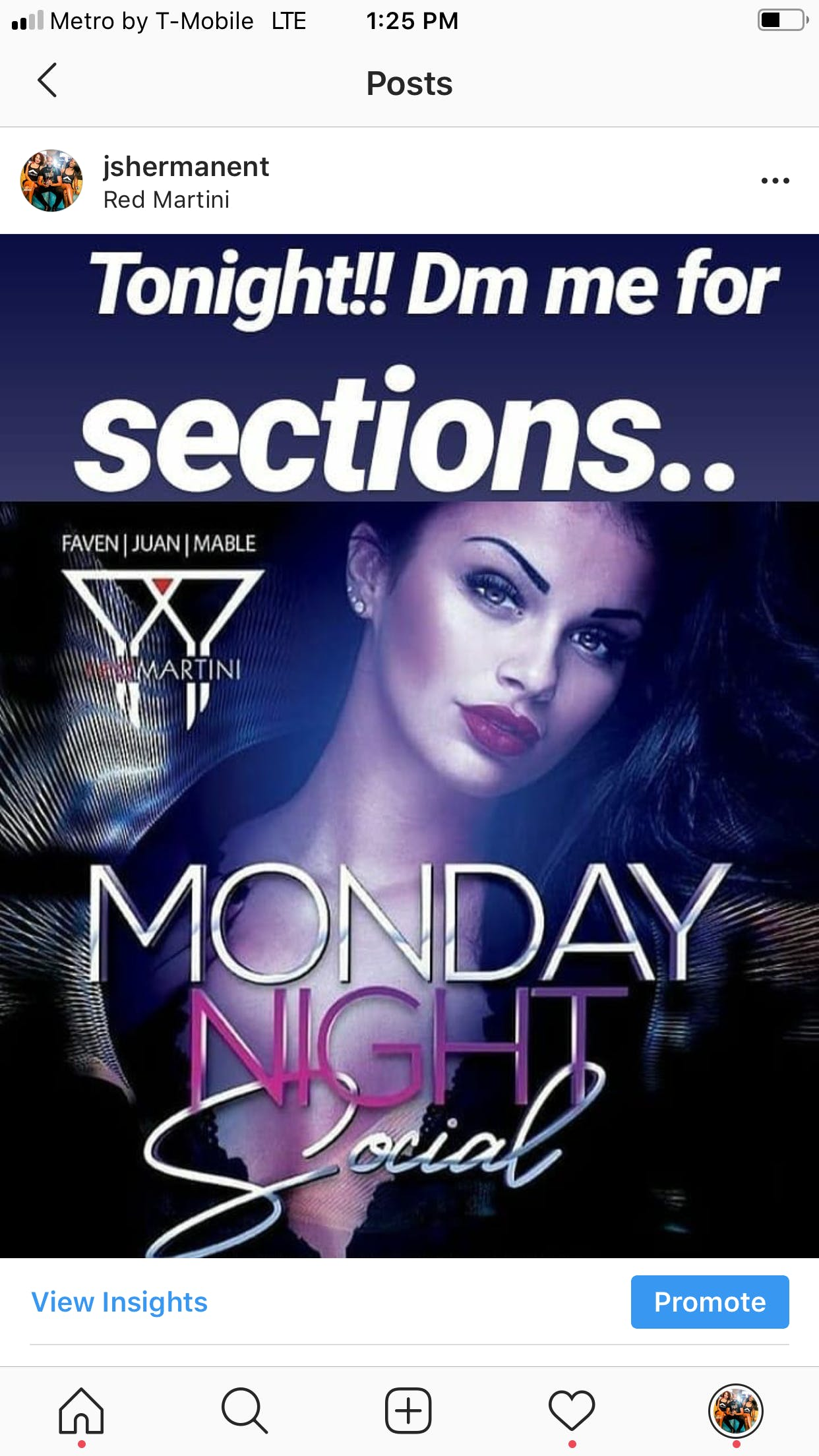 MondayNightSocial at Red Martini....Everyone free til 12 W/RSVP !! For bottle service text 404.808.1249