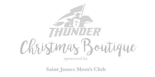 2019 Saint James Academy Christmas Boutique Vendor Contract