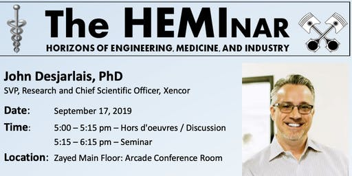The HEMInar: Horizons of Engineering, Medicine, and Industry