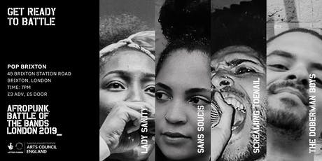 AFROPUNK  Battle of the Bands: London 2019 tickets