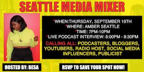 Seattle Media Mixer tickets