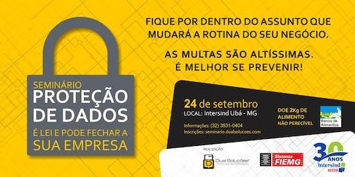 Inscrição - Seminário - PROTEÇÃO DE DADOS