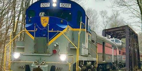 Region on the Rails—a fall foliage dinner and tasting train tickets