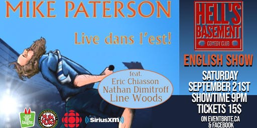 Mike Paterson - Live dans l'est (English Show)