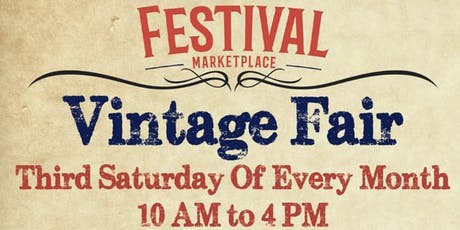 Vintage Fair At the Festival Marketplace tickets