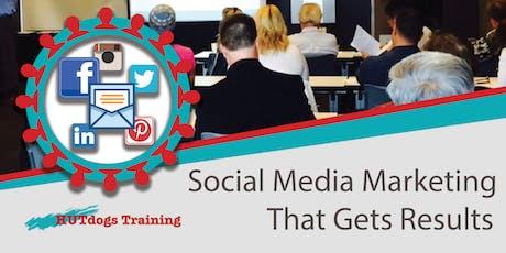 Social Media Marketing and Facebook Advertising workshop tickets