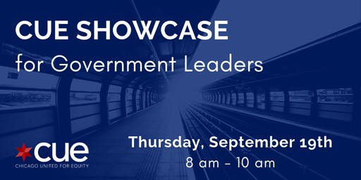 CUE Showcase for Government Leaders