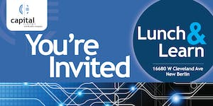 Lunch and Learn Featuring CommScope®