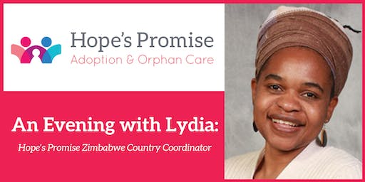 An Evening with Lydia: Zimbabwe Country Coordinator