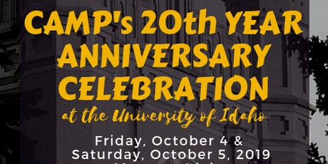 College Assistance Migrant Program 20 Year Anniversary tickets
