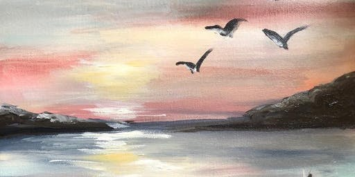 A Third Paint Night, Sunset Pier
