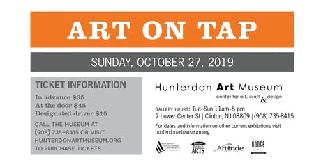 ART ON TAP...AUTUMN EDITION: A BENEFIT FOR THE HUNTERDON ART MUSEUM! tickets