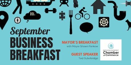 September Mayor's Breakfast tickets