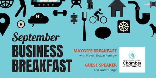 September Mayor's Breakfast