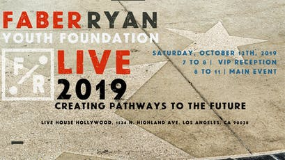 Faber Ryan Youth Foundation LIVE 2019 tickets