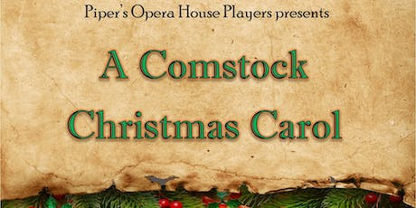 A Comstock Christmas Carol tickets