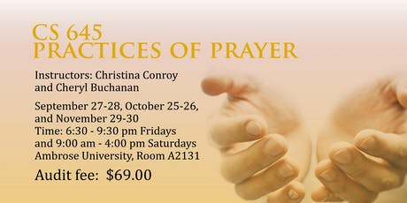 Practices of Prayer Course tickets