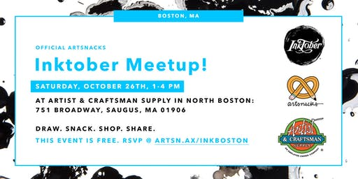 Inktober Meetup in Boston!