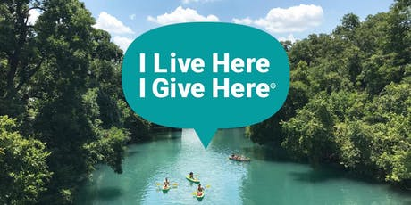 I Live Here I Give Here Meetup: Hays, Blanco, & Caldwell Counties tickets