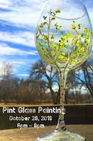 Pint Glass Painting