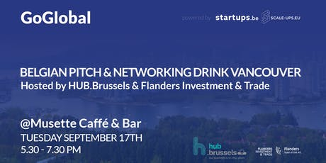 Belgian Pitch and Networking Drink Vancouver tickets