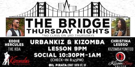 The Bridge: Kizomba & Urban Kiz in the City tickets