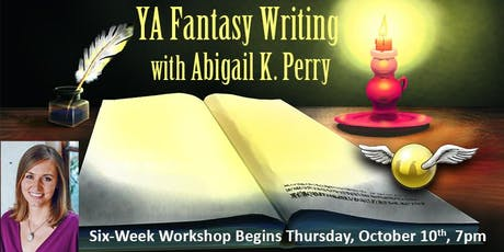 YA Fantasy Writing with Abigail K. Perry tickets