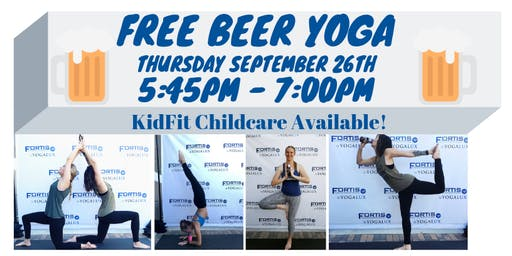 FREE Beer Yoga with Live DJ!