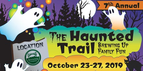 The Haunted Trail at Pisgah Brewery (Wednesday - 10/23) tickets