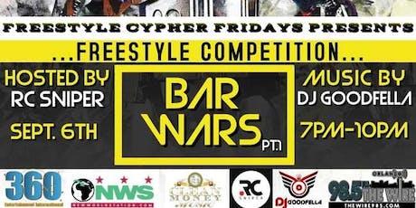 Freestyle Fridays Bar Wars tickets