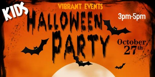 Vibrant Events Kids Halloween Party!