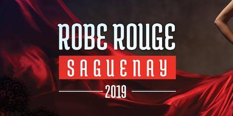 Robe rouge Saguenay billets