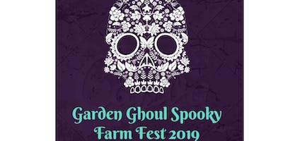 Planting Day:  Pre-Halloween Garden Ghoul Spooky Farm Fest 2019