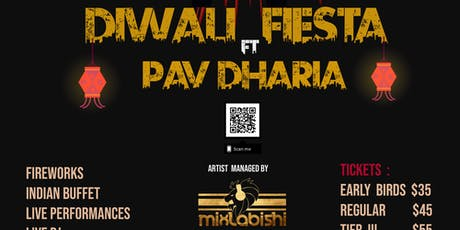 Diwali Fiesta ft Pav Dharia tickets