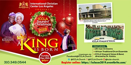 ICCLA Sound of Christmas 2019 tickets