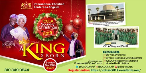 ICCLA Sound of Christmas 2019