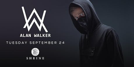 I Love Tuesdays feat. Alan Walker 9.24.19 tickets